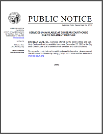 ServicesUnavailableAtBigBearCourthouse122719.png
